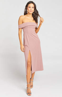 Show Me Your Mumu Haven Dress ~ Dusk Rose Villa Stretch