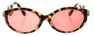 Kieselstein-Cord Barry African Queen Sunglasses