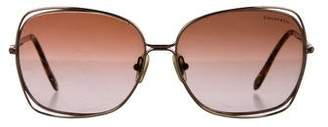 Tiffany & Co. Embellished Gradient Sunglasses