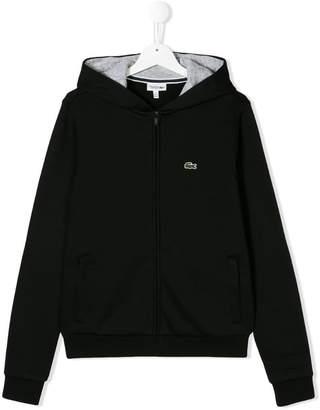 Lacoste Kids TEEN zipped hoodie