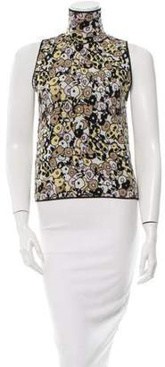 Giamba Printed Sleeveless Top