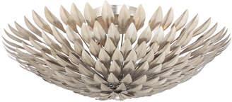Brioche 6-Light Antiqued Silver Ceiling Mount Fixture