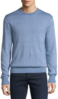 Rag & Bone Men's Dean Merino/Linen Crewneck Sweater