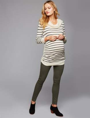 A Pea in the Pod Luxe Essentials Skinny Sateen Maternity Pants