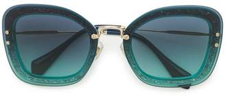 Miu Miu oversized sunglasses