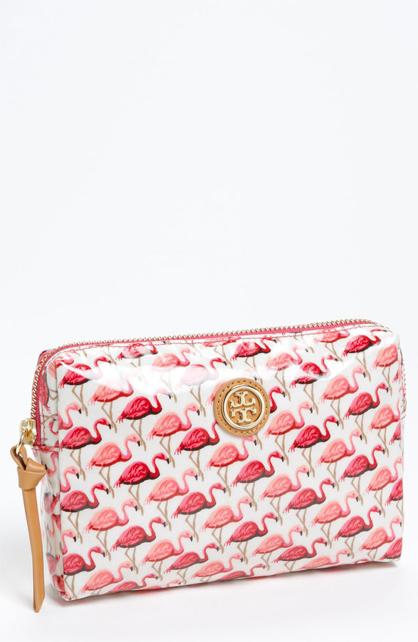 Tory Burch 'Slim Brigitte' Cosmetics Case