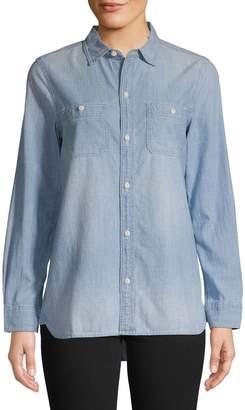 Madewell Chambray Classic Ex-Boyfriend Shirt