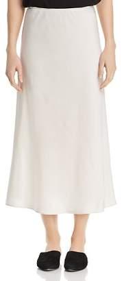Eileen Fisher Bias Cut Silk Skirt
