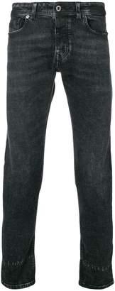 Diesel Black Gold skinny jeans in hand-scratched denim