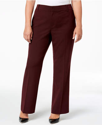 Charter Club Plus Size High-Waist Pants