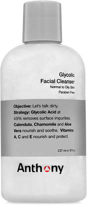 Anthony Logistics For Men Glycolic Facial Cleanser, 8 oz