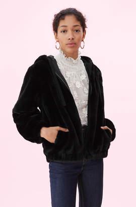 Rebecca Taylor La Vie Faux Fur Bomber
