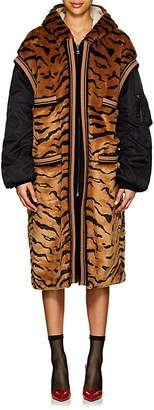 Dolce & Gabbana Women's Tiger Faux-Fur Costume Coat