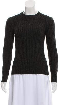 ba58dc3af2 Narciso Rodriguez Camel Hair Knit Sweater