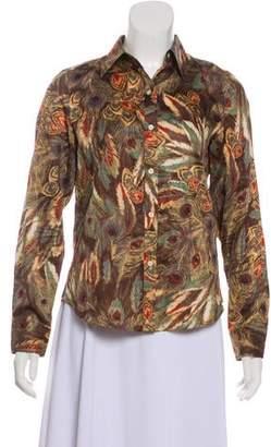 Lauren Ralph Lauren Long Sleeve Printed Top