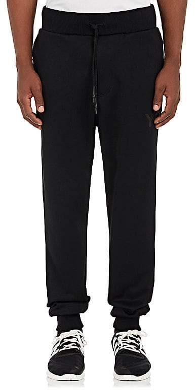 Y-3 Men's Logo Tech-Jersey Jogger Pants