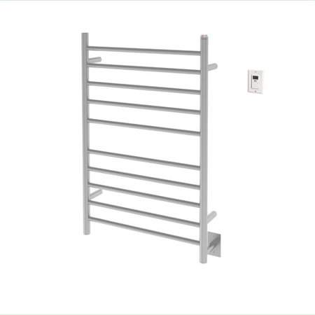 Ancona Dual 10-Bar Wall Mounted Electric Towel Warmer with Timer