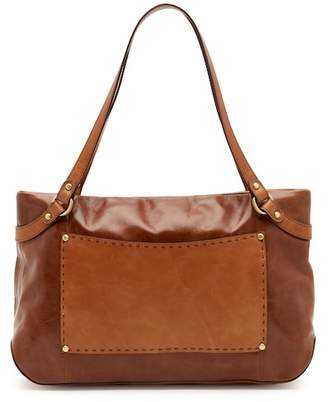 Hobo Knoll Leather Shoulder Bag