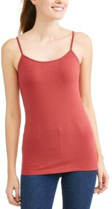 Time and Tru Women's Essential Knit Layering Cami