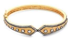 Freida Rothman Studded Kite Bangle Bracelet
