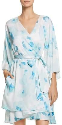 Kate Spade Rose-Print Bridal Robe