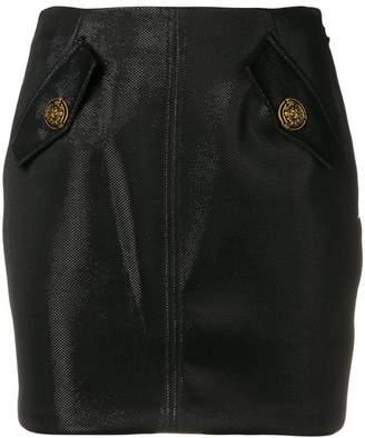 Elisabetta Franchi flap pockets skirt