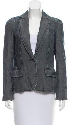 Marc Jacobs Notch-Lapel Denim Blazer