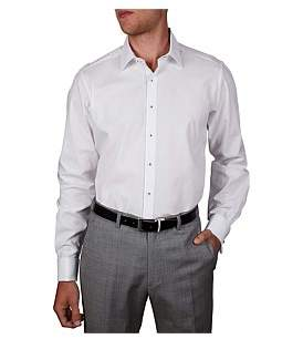 Geoffrey Beene Corded Dobby Squares Slim Fit Shirt