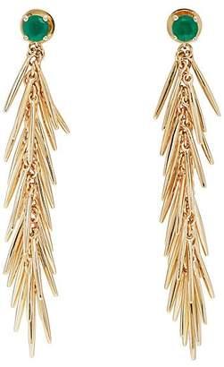Ileana Makri Women's Grass Dangling Drop Earrings