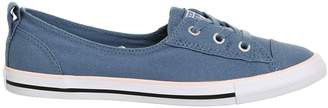 Converse Womens **Ballet Lace Trainers By Supplied By Office - Blue