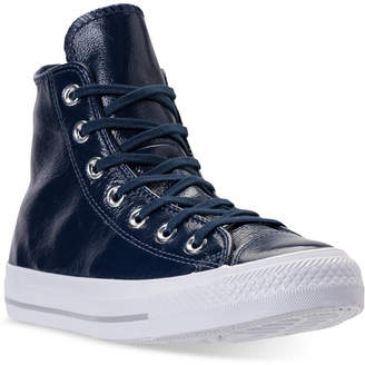 Converse Chuck Taylor High-Top Patent Casual Sneakers from Finish Line