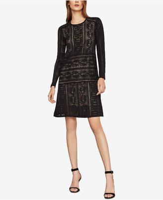 BCBGMAXAZRIA Lace Shift Dress