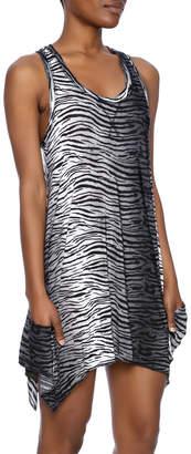 Isabella Collection Rodriguez Zebra Tunic