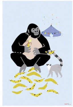 Sale - Gorilla Poster - MIMI'lou