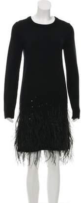 Michael Kors Cashmere Knit Dress Black Cashmere Knit Dress
