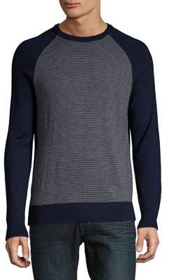 Black & Brown Black Brown Raglan-Sleeve Merino Wool Sweater