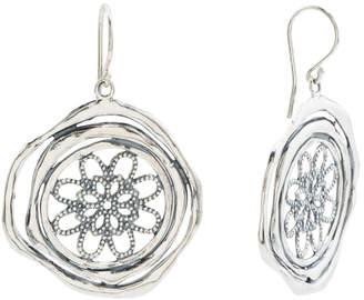 85e386a07 Made In Israel Sterling Silver Filigree Earrings