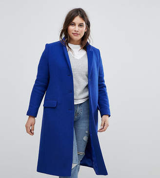 Helene Berman Plus College Wool Blend Coat