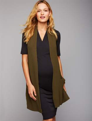 A Pea in the Pod Rib Knit Maternity Sweater Vest