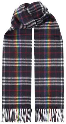 Burberry Rainbow Check Scarf