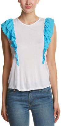 C&C California Caleigh & Clover Apollonia Ruffle T-Shirt