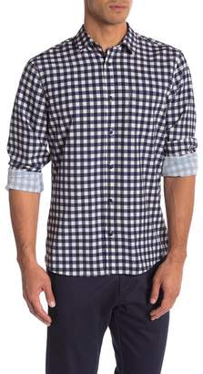 WALLIN & BROS Patterned Long Sleeve Performance Fit Shirt