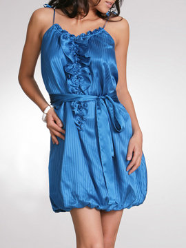 Silk Blousant Dress