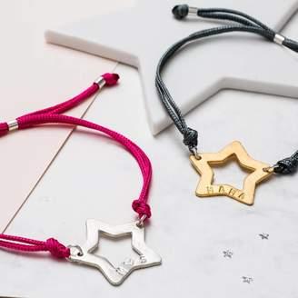 f92bdbaf788 SuperStar Chambers & Beau Personalised Friendship Bracelet