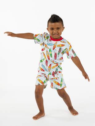 Sara's Prints プリント ショートパンツ パジャマセット サーフ 5