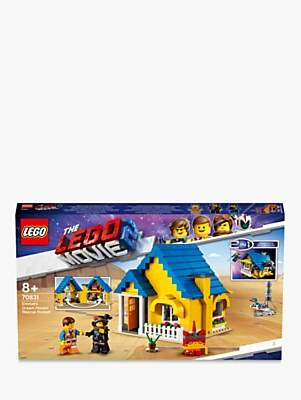 Lego THE MOVIE 2 Playtime 70831 2 in1 Emmet's Dream House/Rescue Rocket
