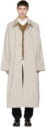 BEIGE Hed Mayner Oversized Trench Coat