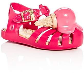 Mini Melissa Girls' Mini Aranha Sandals - Walker, Toddler $60 thestylecure.com