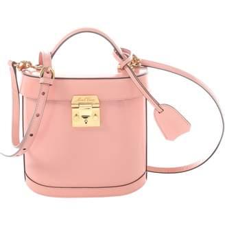 Mark Cross Pink Leather Handbag