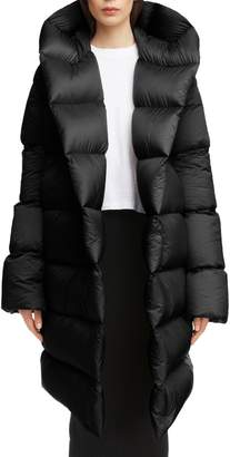 Rick Owens Down Fill Puffer Coat